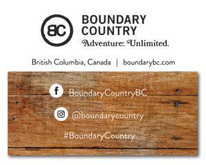 Boundary Country sticker