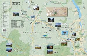 Similkameen Valley regional map